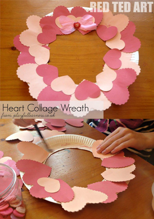 Valentines-Heart-collage-wreath-