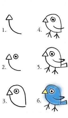 да нарисуваме пиленце