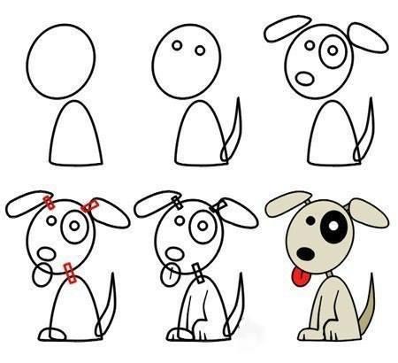 да нарисуваме куче