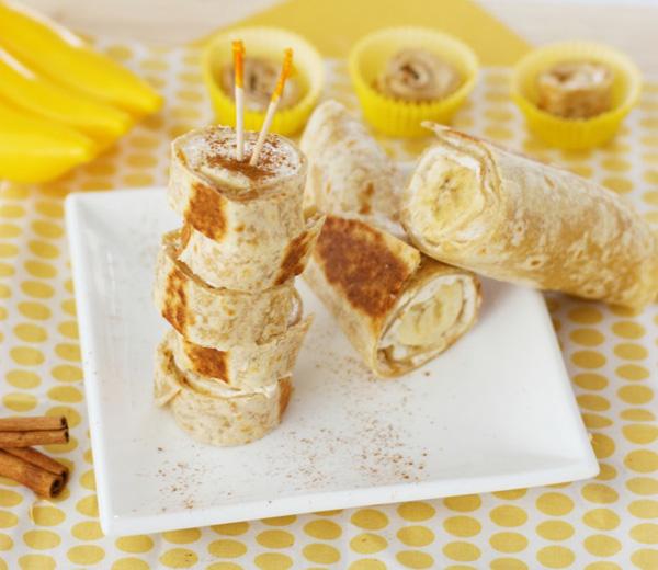 банан в палачинка