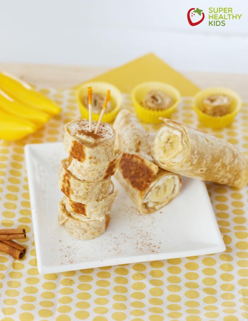закуска с банан и палачинка