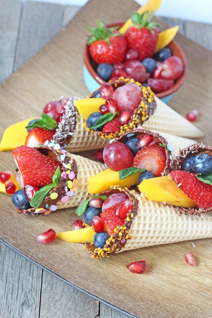 сладолед плодове деца